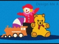 Childrens toys door mat