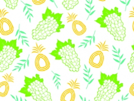 Fruit seemless pattern design