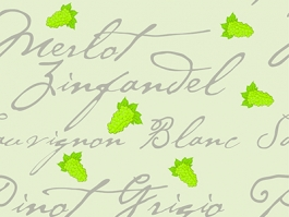 wine repeating pattern
