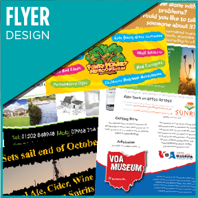 High Quality flyer design service.
