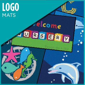 To further promote your business, you can have your new Logo Design incorporated into a high quality Logo Mat.