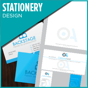Stationery designed to compliment your Logo.